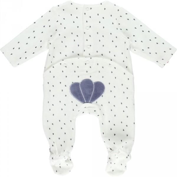 Pyjama dors bien velours bord de mer girl Noukies