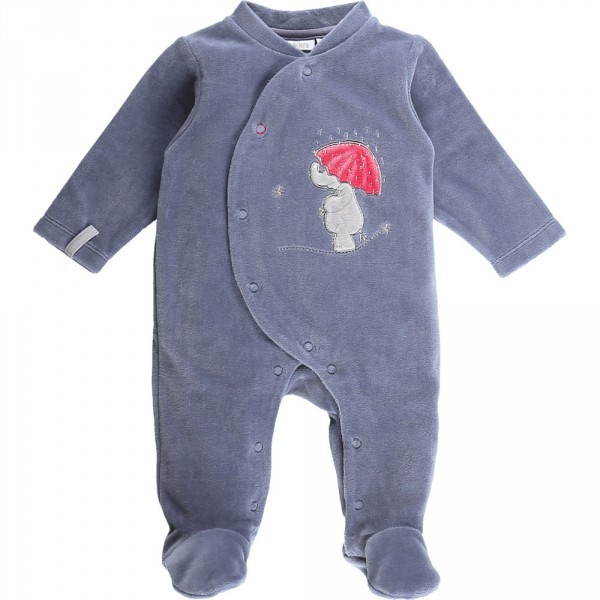 Pyjama dors bien velours bord de mer girl océan Noukies