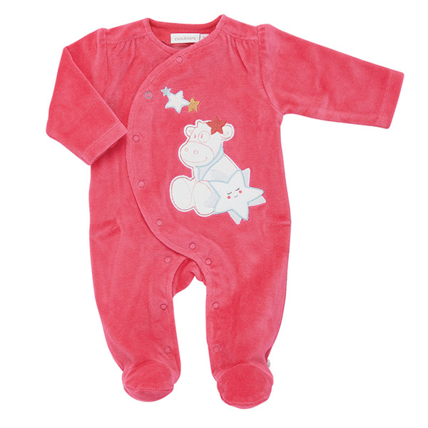 Pyjama dors bien velours candy peps girl Noukies