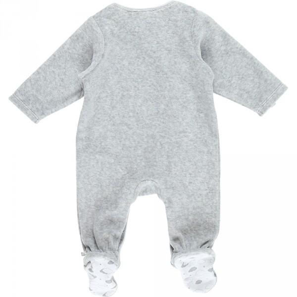 Pyjama dors bien velours cocon gris Noukies