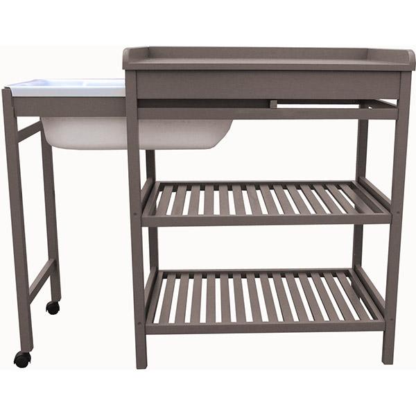 Table à langer bébé et meuble de bain provence Quax