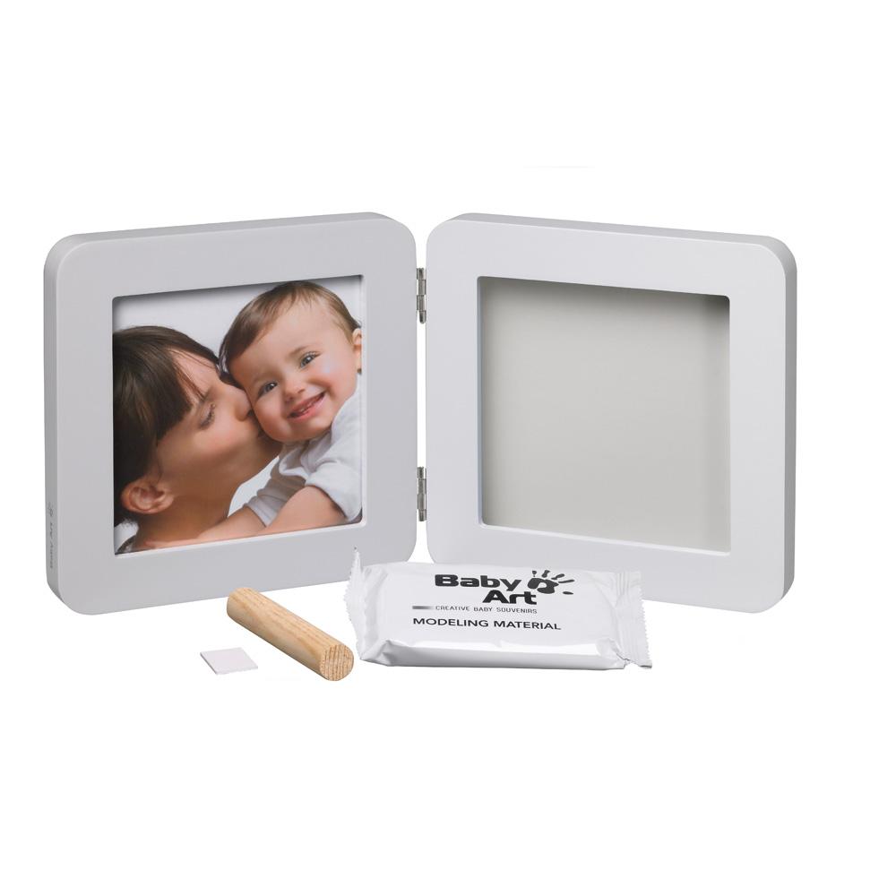 cadre photo modern avec empreinte pastel de baby en vente chez cdm