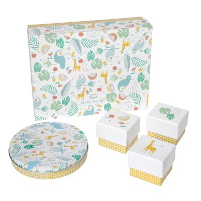 Coffret cadeau my gift box mr & mrs clynk (magic box + 3 boîtes) Baby art