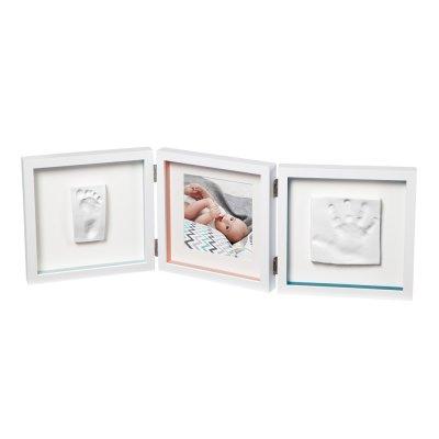 Cadre photo 3 volets my baby style essentials Baby art