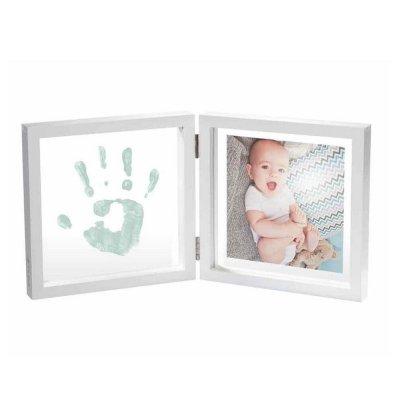 Cadre 2 volets my baby style transparent photo et peinture Baby art