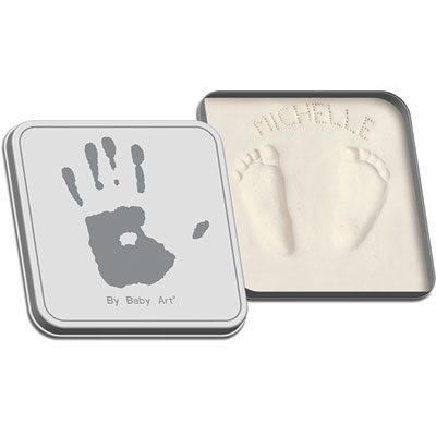 Baby art Magic box blanc / gris