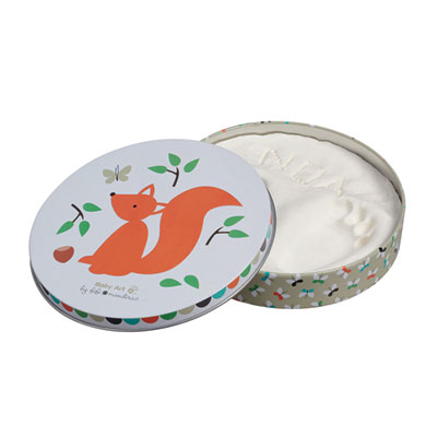 Boîte d'empreintes magic box ecureuil edition limitée fifi mandirac Baby art