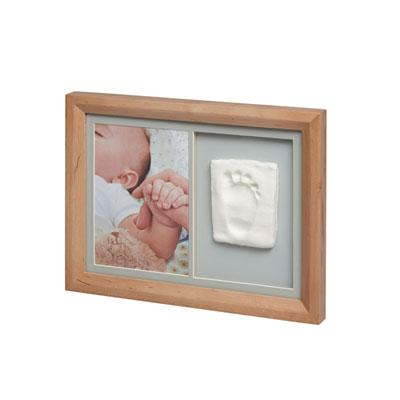 Cadre photo et empreinte tiny touch miel Baby art