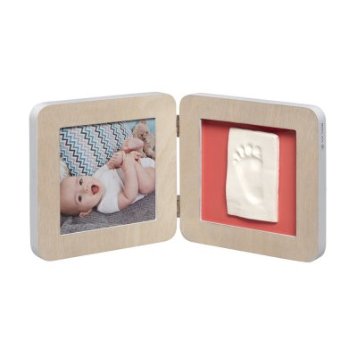 Cadre photo 2 volets my baby touch scandinave Baby art