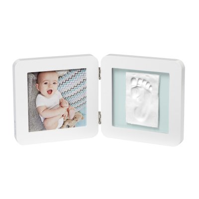 Cadre photo 2 volets my baby touch blanc Baby art
