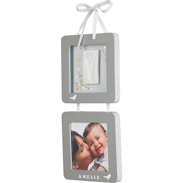 Cadres photo et empreintes à suspendre Baby art
