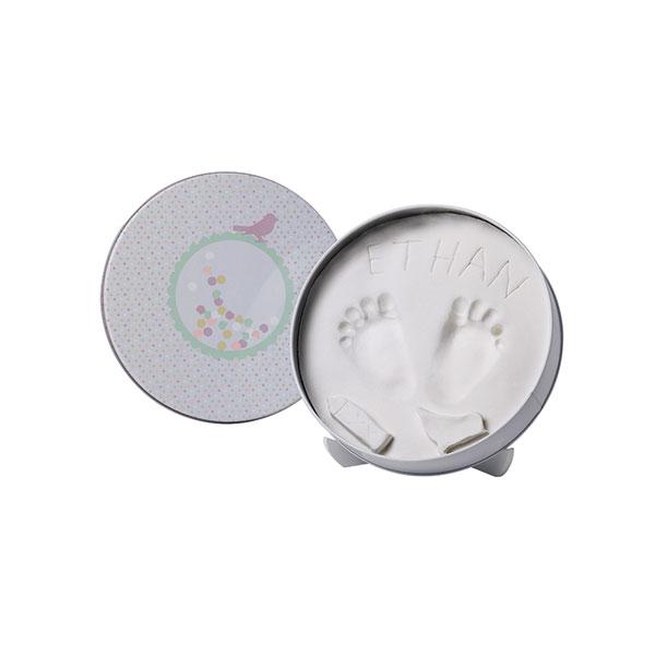 Boîte d'empreinte magic box confettis Baby art