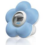 Thermomètre bébé de bain et chambre bleu pas cher