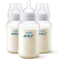Lot de 3 biberons anti-colic 330 ml