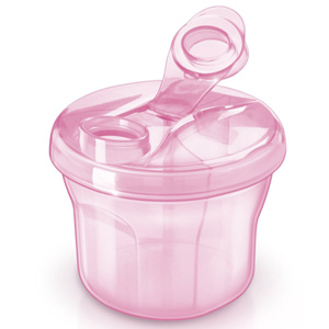 Doseur de lait en poudre rose