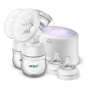 Tire lait electronique double natural + accessoires