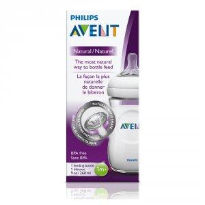 Avent-philips Biberon natural 260 ml