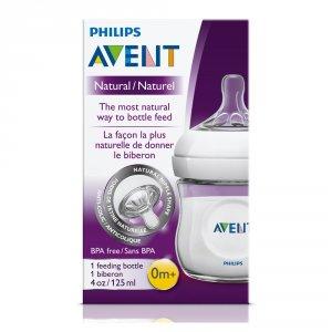 Avent-philips Biberon natural 125 ml