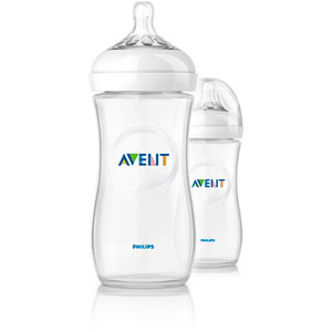 Avent-philips Lot de 2 biberons natural 330 ml
