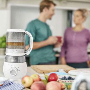 Avent-philips Robot de cuisine maxisaveurs cuiseur/mixeur