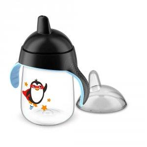 Tasse à bec anti-fuites 340 ml noire