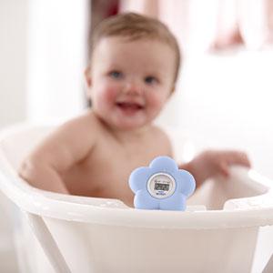 Avent-philips Thermomètre bébé de bain et chambre bleu