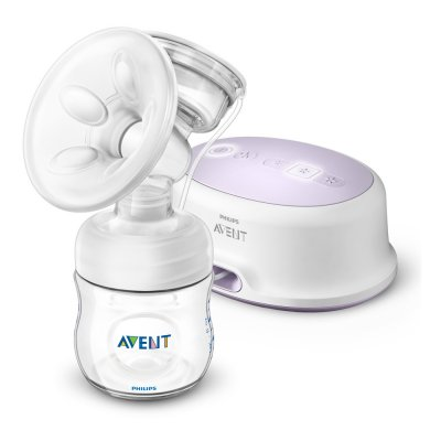 Tire lait electronique simple natural + accessoires Avent-philips