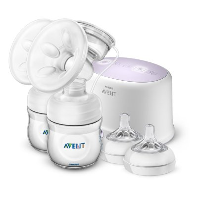 Tire lait electronique double natural + accessoires Avent-philips