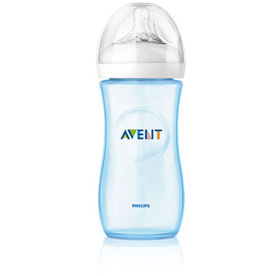 Biberon natural bleu 330 ml Avent-philips