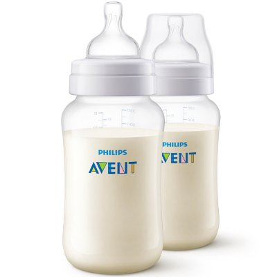 Lot de 2 biberons anti-colic 330 ml Avent-philips