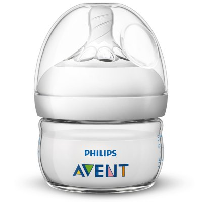 Biberon natural nouveau né 60 ml Avent-philips