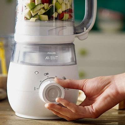 Robot de cuisine maxisaveurs cuiseur/mixeur Avent-philips