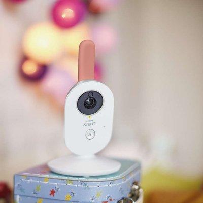 Coffret babyphone video scd625/26+ plaid doudou et compagnie Avent-philips