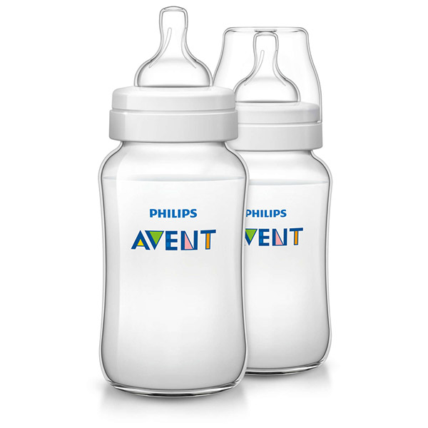Lot de 2 biberons classic + 330 ml Avent-philips
