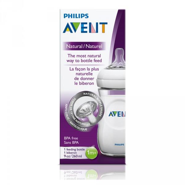 Biberon natural 260 ml Avent-philips