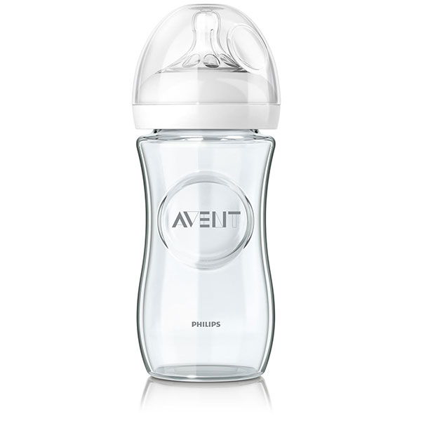 Biberon verre natural 240 ml Avent-philips