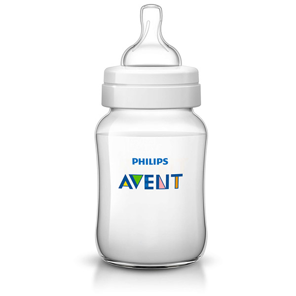 Lot de 2 biberons classic + 260 ml Avent-philips