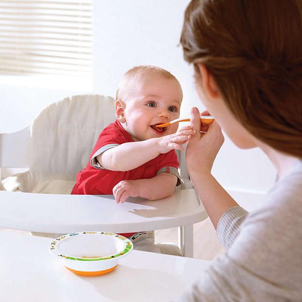 Lot de 2 cuillères de sevrage 1er âge / 6 mois et + Avent-philips