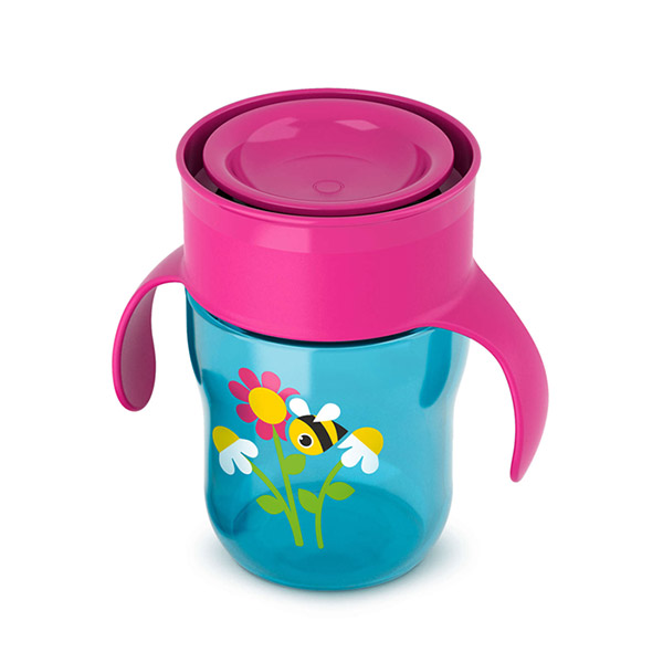 Tasse d'apprentissage 260 ml fille Avent-philips