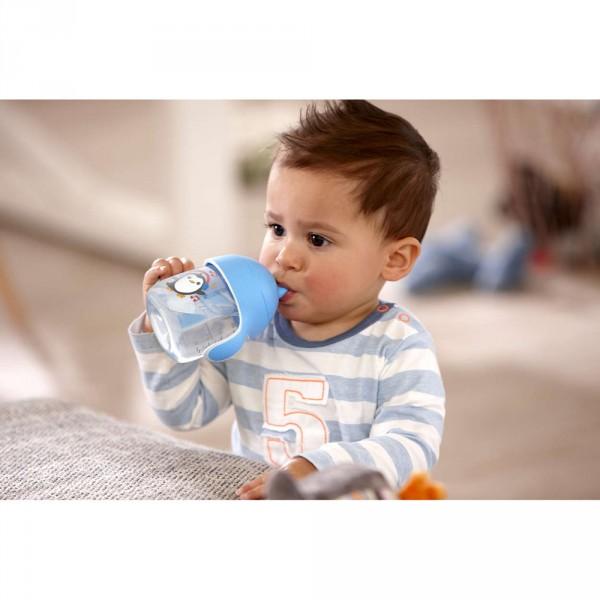 Tasse à bec anti-fuites 260 ml bleue Avent-philips