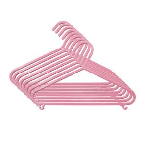 8 cintres pour bébé rose