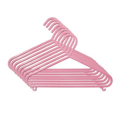 8 cintres pour bébé rose Maltex