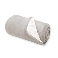 Couverture bébé réversible softy et coton 75x100cm pocus sesame