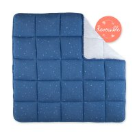 Tapis de parc bébé 100x100cm jersey quilted stary shade
