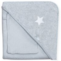 Cape de bain 90x90 stary mixed grey