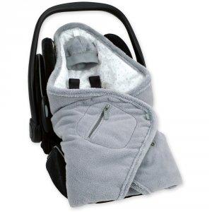 Couverture pour siège auto coton et softy stary grizou