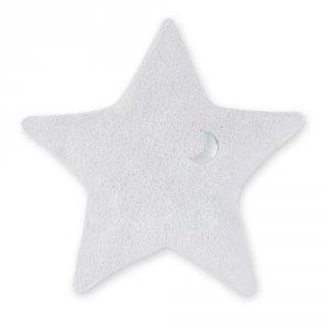 Coussin déco étoile softy stary plum