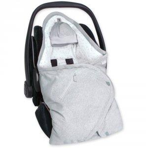 Couverture pour siège auto pady jersey bmini mix light grey