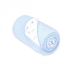 Couverture bébé réversible softy et coton 75x100cm fanjo