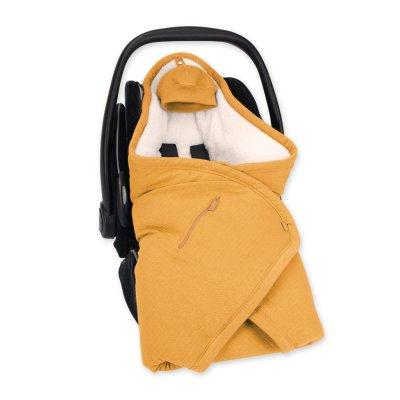 Couverture pour siège auto pady tetra jersey teddy cadum golden Bemini